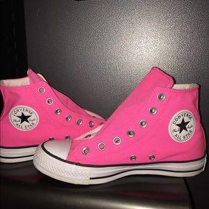 Hot Pink Chuck Taylor All Star High Top